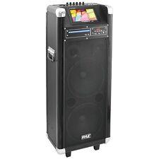 """Pyle PKRK210 1000 Watt, 7"""" Screen Karaoke Vibe Bluetooth Multimedia PA System"""