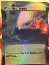 Crucible of Worlds Custom COMMON Alter Foil MTG EDH Commander Legacy Cube