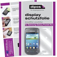 Samsung Galaxy Pocket Neo Schutzfolie klar Displayschutzfolie Folie dipos