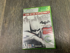 Batman: Arkham City -- Game of the Year Edition Microsoft Xbox 360 NEW SEALED