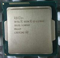 Intel Xeon E3-1270 V3 CPU Quad Core 3.5GHz 8M SR151 Socket LGA1150 Processor