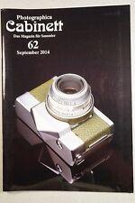 Photographica Cabinett 62 Stereoskope Kodak Leica Barnack Cambinox Werraflex