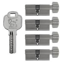 4x Knaufzylinder 80mm 40/40 gleichschliessend +20 Schlüssel Tür Zylinder Schloss