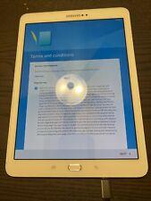 Samsung Galaxy Tab S2 SM-T813 White 32GB Wi-Fi 9.7 inch Tablet Factory Reset