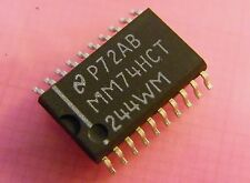 20x mm74hct244wmx octal 3-State Buffer/Line Driver, National Semiconductor