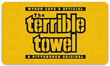 Pittsburgh Steelers Terrible Towel Quote Saying Printed on MAGNET