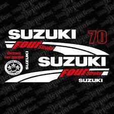 Suzuki 70 Four stroke (2004) outboard decal aufkleber adesivo sticker set