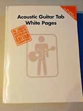 Guitar Tab White Pages Volume 1 2nd Edition Sheet Music Guitar Tablatu 000690471