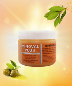 Minoval Plus Hair Regrowth Natural Vegetable Oil Pomade, 120 mL
