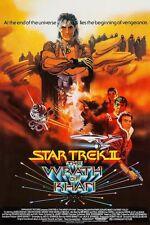 STAR TREK II THE WRATH OF KHAN reproduction affiche américaine cinéma 60x90 cm
