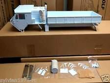 1/10 6x6 Scale Oshkosho Military Cargo Truck Plastic Body Shell * Unpainted *