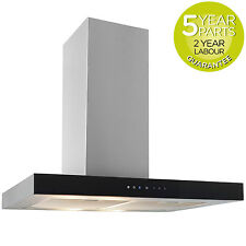 MyAppliances REF10303 70cm Box Chimney Cooker Hood Extractor Fan Touch Control