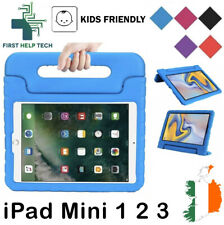 Apple iPad Mini 1 2 3 Case Kids Shockproof Cover Soft EVA Foam Handle Stand New