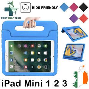 Apple iPad Mini 1 2 3 Case Kids Shockproof Cover Soft EVA Foam Handle Stand New