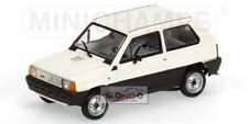 Fiat Panda 34 White 1980 Minichamps Neutral Box 1:43 433121400 Modellino