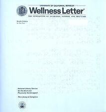 Wellness Letter - May 2018 (Braille for the blind)