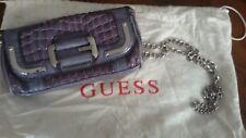 GUESS borsetta pochette eco pelle viola