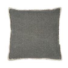 Kissen Noor grau 50x50 cm, abnehmbarer Bezug, inkl. Füllung