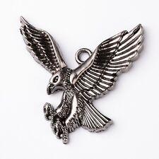 Adler Vogel Raubvogel Anhänger Alt Silber Neu Top