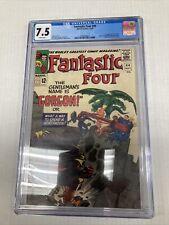 Marvel Comics Fantastic Four 44  CGC Graded 7.5