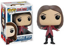 Funko Pop Vinyl Scarlet Witch #133 Captain America Civil War VAULTED