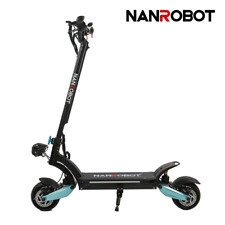 "Nanrobot Electric Scooter Lightning E-scooter 8"" 1600W Adult 30Mph 48V Folding"