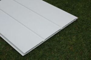 WHITE UPVC 300mm HOLLOW SOFFIT. SPECIAL OFFER £14.99 5m LENGTH.