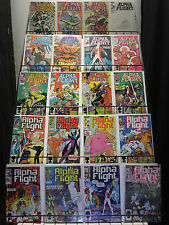 Alpha Flight Big Ole Lot of 49Diff from #3-112 (Marvel 1983-92) Canada's Heroes
