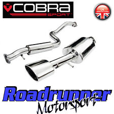 "Cobra Sport Leon Cupra R Exhaust System MK1 2.5"" Stainless Cat Back Resonated 1M"
