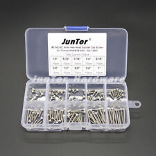 150pcs #2-56UNC Allen Hex Head Socket Cap Screw Assortment Kit NO.1256