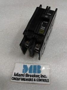 QOU240 Square D 2 Pole 40A 240VAC 50/60Hz UL Circuit Breaker NEW