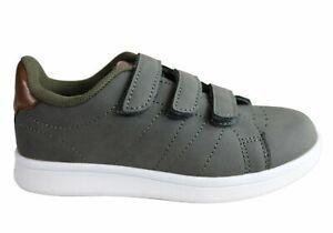 Clarks Declan Boys Kids Adjustable Strap Comfortable Casual Shoes - KidsShoes