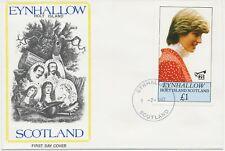 GB EYNHALLOW HOLY ISLAND SCOTLAND 1982, Lady Diana 21th Birthday, superb FDC