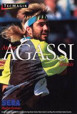 # Sega Master System-andre agassi tenis/MS juego #
