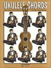 Ron Middlebrook Ukulele Chords Learn to Play Uke Chord Easy Music Book