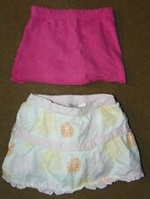 2 Baby Girls SKIRT Size 12 Months GEORGE Pink KID CONNECTION