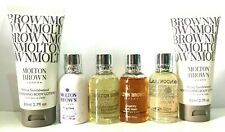ORIGINAL MOLTON BROWN GIFT SET OF BODY WASH  + BODY LOTION + BODY OIL FREE POST