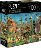 Sunny Garden Vivid Street Views Jigsaw Puzzle 1000 Piece 68.6 x 50.8cm New