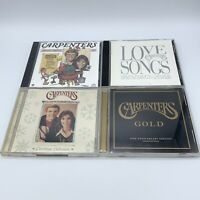 CARPENTERS 4 CD Lot - Christmas Portrait Love Songs Gold Christmas Collection
