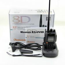 Wouxun KG-UV8D + micro casque , VHF+UHF136-174/400-480Mhz radioamateur 5W V 1.05