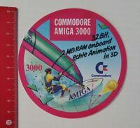 Aufkleber/Sticker: Commodore AMIGA 3000 (050417110)