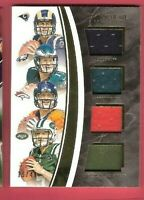 JARED GOFF CARSON WENTZ ROOKIE JERSEY CARD #d49 2016 IMMACULATE LYNCH HACKENBERG
