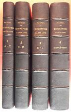 TARN : Magloire NAYRAL, Biographies Castraises (Castres, Vidal, 1833-1837).