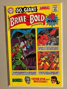 Brave and the Bold #1 Reprint 1969 Annual 8.0 VF (2001)