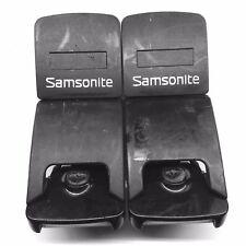 SAMSONITE epsilon LATCH lock SPARE replacement SUITCASE part L&R used 9100 133