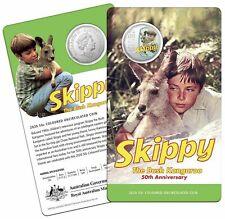 Australia 2020 50c Skippy The Bush Kangaroo 50th Anniversary UNC Coloured Coin