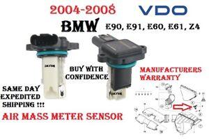 BMW 2004-2008 323i 325i 330i 525i 530i Z4 Engine Air Mass Air Flow Sensor VDO