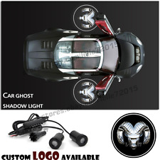 2x Car Door Dodge Logo Light Ghost Shadow Projector Laser Courtesy For Dodge Ram