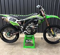 'KAWANA' Kawasaki Graphics Kit KX 125 250 2017 2018 2019 All Years