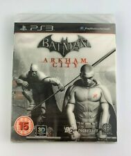PS3 Batman Arkham City Holographic Slipcover, UK Pal, Brand New Factory Sealed